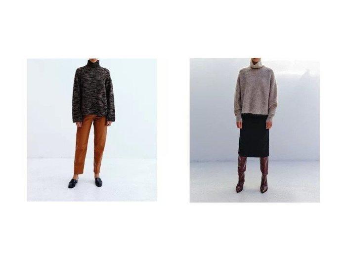 【SAYAKA DAVIS/サヤカ デイヴィス】のTiger Stripe Knit&Mohair Highneck 【トップス・カットソー】おすすめ!人気、トレンド・レディースファッションの通販 おすすめ人気トレンドファッション通販アイテム インテリア・キッズ・メンズ・レディースファッション・服の通販 founy(ファニー) https://founy.com/ ファッション Fashion レディースファッション WOMEN トップス・カットソー Tops/Tshirt ニット Knit Tops タートルネック Turtleneck セーター タートルネック ハイネック フロント 畦 ストライプ |ID:crp329100000056761