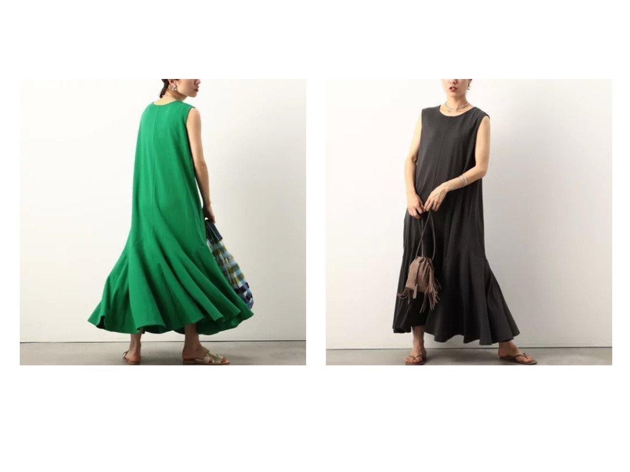 【NOLLEY'S/ノーリーズ】の裾フレアノースリーブマキシワンピース 【ワンピース・ドレス】おすすめ!人気、トレンド・レディースファッションの通販 おすすめで人気の流行・トレンド、ファッションの通販商品 インテリア・家具・メンズファッション・キッズファッション・レディースファッション・服の通販 founy(ファニー) https://founy.com/ ファッション Fashion レディースファッション WOMEN ワンピース Dress マキシワンピース Maxi Dress ノースリーブ フレア ポケット マキシ リゾート 夏 Summer  ID:crp329100000056872