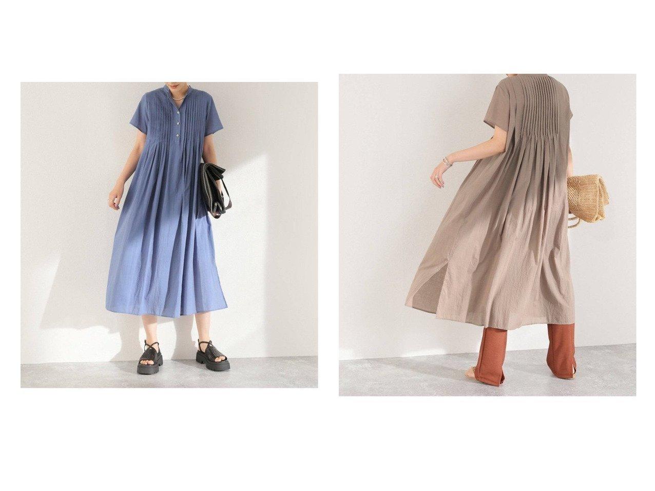 【JOURNAL STANDARD/ジャーナルスタンダード】のコットンボイルタックハーフスリーブワンピース 【ワンピース・ドレス】おすすめ!人気、トレンド・レディースファッションの通販 おすすめで人気の流行・トレンド、ファッションの通販商品 インテリア・家具・メンズファッション・キッズファッション・レディースファッション・服の通販 founy(ファニー) https://founy.com/ ファッション Fashion レディースファッション WOMEN ワンピース Dress NEW・新作・新着・新入荷 New Arrivals 2021年 2021 2021春夏・S/S SS/Spring/Summer/2021 S/S・春夏 SS・Spring/Summer アンダー キャミソール スリット バランス ペチコート レギンス 人気 半袖  ID:crp329100000056873