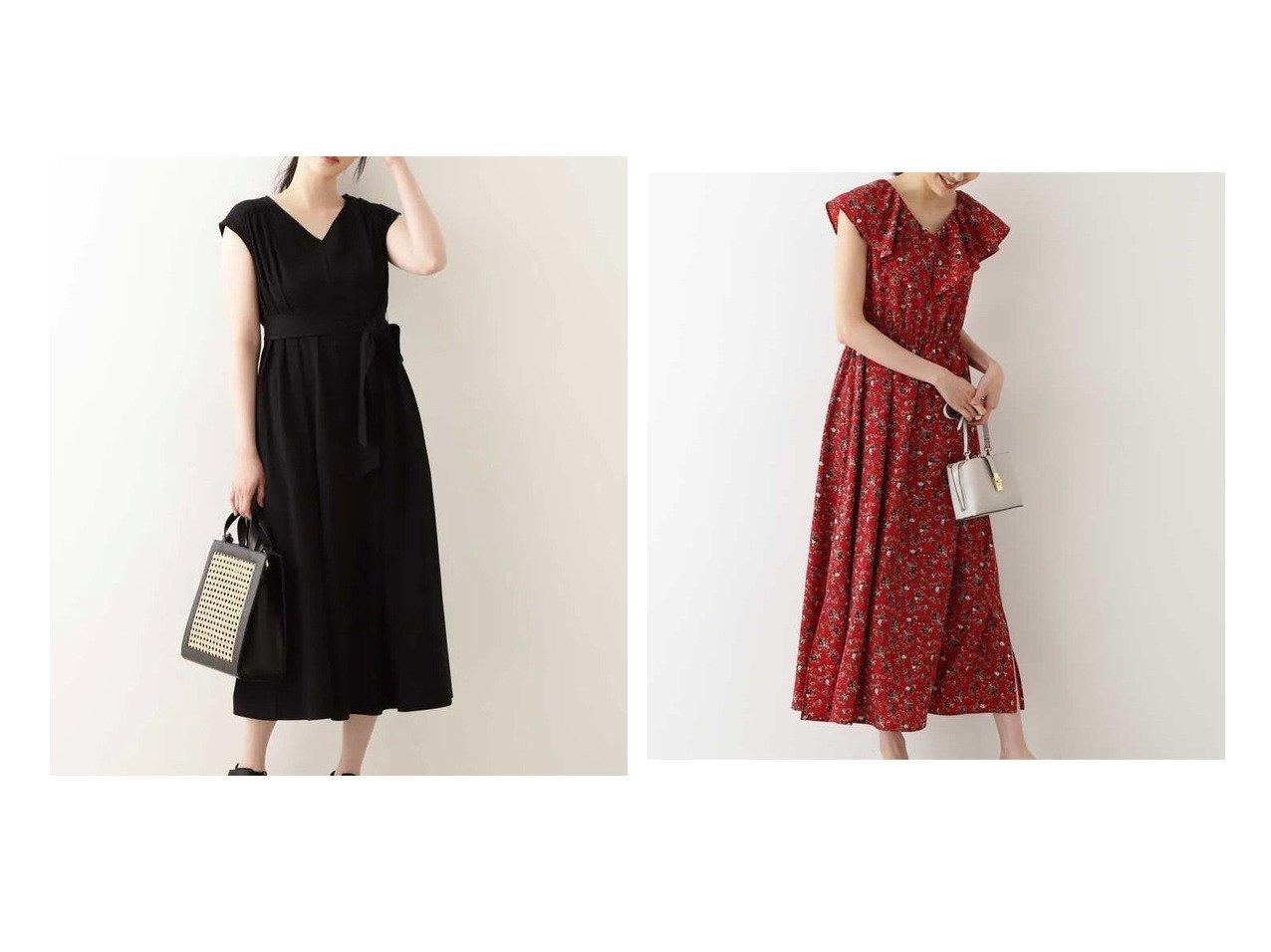 【NATURAL BEAUTY BASIC/ナチュラル ビューティー ベーシック】のオーガニックコットンカットフレアワンピース&ラッフルワンピース 【ワンピース・ドレス】おすすめ!人気、トレンド・レディースファッションの通販 おすすめで人気の流行・トレンド、ファッションの通販商品 インテリア・家具・メンズファッション・キッズファッション・レディースファッション・服の通販 founy(ファニー) https://founy.com/ ファッション Fashion レディースファッション WOMEN ワンピース Dress フレア リボン リラックス |ID:crp329100000056887