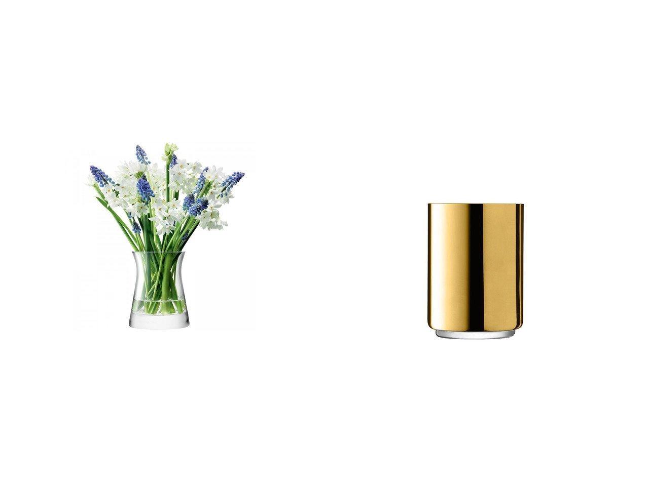 【LSA international/エルエスエー インターナショナル】のカラット ランタン ベース 高さ16.5cm&フラワー ガーデンポージィベース 【FURNITURE】おすすめ!人気、インテリア雑貨・家具の通販 おすすめで人気の流行・トレンド、ファッションの通販商品 インテリア・家具・メンズファッション・キッズファッション・レディースファッション・服の通販 founy(ファニー) https://founy.com/ フラワー  ID:crp329100000056954
