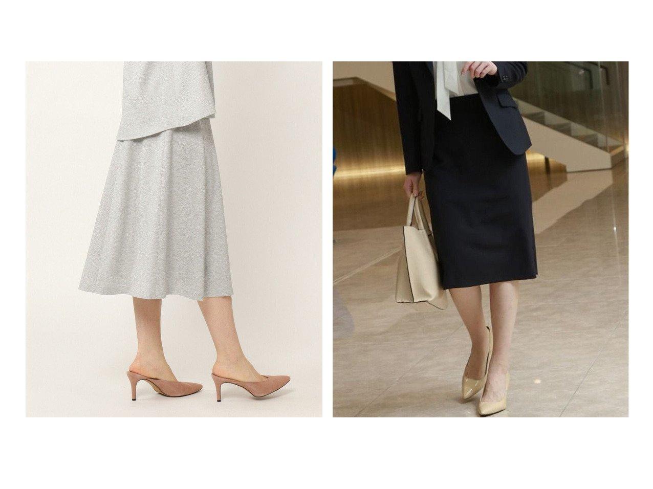 【KASHIYAMA EASY/カシヤマ イージー】のUVカット リネンライク フレアスカート&シルキータッチ2Wayストレッチタイトスカート 【スカート】おすすめ!人気、トレンド・レディースファッションの通販   おすすめで人気の流行・トレンド、ファッションの通販商品 インテリア・家具・メンズファッション・キッズファッション・レディースファッション・服の通販 founy(ファニー) https://founy.com/ ファッション Fashion レディースファッション WOMEN スカート Skirt Aライン/フレアスカート Flared A-Line Skirts シルク シンプル ストレッチ ストレート スーツ セットアップ タイトスカート 定番 Standard 人気 おすすめ Recommend |ID:crp329100000057108