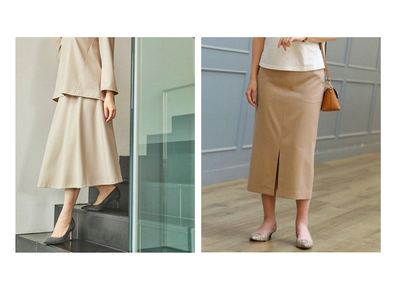 【KASHIYAMA EASY/カシヤマ イージー】のオックス 2wayストレッチ フレアスカート&Rツイルストレッチタイトスカート 【スカート】おすすめ!人気、トレンド・レディースファッションの通販   おすすめで人気の流行・トレンド、ファッションの通販商品 インテリア・家具・メンズファッション・キッズファッション・レディースファッション・服の通販 founy(ファニー) https://founy.com/ ファッション Fashion レディースファッション WOMEN スカート Skirt Aライン/フレアスカート Flared A-Line Skirts シンプル ジャケット スリット スーツ セットアップ タイトスカート トレンド フェミニン フロント ベーシック ボトム ポケット おすすめ Recommend オックス 春 Spring 吸水 軽量 ストレッチ フレア リラックス S/S・春夏 SS・Spring/Summer 夏 Summer |ID:crp329100000057113