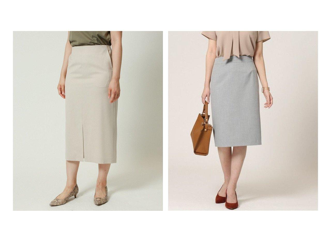 【KASHIYAMA EASY/カシヤマ イージー】のRツイルストレッチタイトスカート&2Wayパワーストレッチタイトスカート 【スカート】おすすめ!人気、トレンド・レディースファッションの通販   おすすめで人気の流行・トレンド、ファッションの通販商品 インテリア・家具・メンズファッション・キッズファッション・レディースファッション・服の通販 founy(ファニー) https://founy.com/ ファッション Fashion レディースファッション WOMEN スカート Skirt 洗える シンプル ジャケット ストレッチ ストレート スリム スーツ セットアップ タイトスカート 人気 おすすめ Recommend |ID:crp329100000057114
