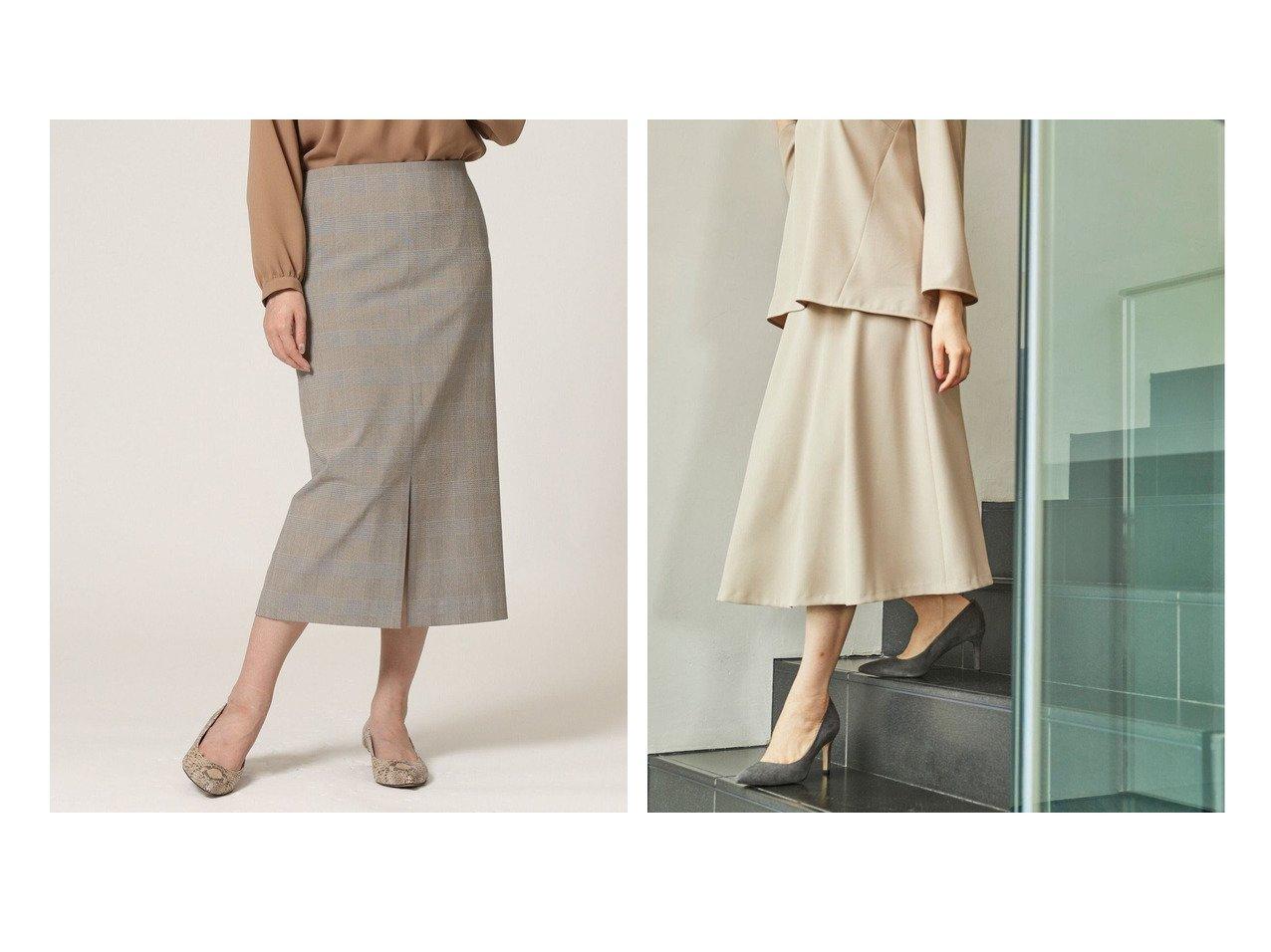 【KASHIYAMA EASY/カシヤマ イージー】のオックス 2wayストレッチ フレアスカート&2Wayパワーストレッチグレンチェックタイトスカート 【スカート】おすすめ!人気、トレンド・レディースファッションの通販   おすすめで人気の流行・トレンド、ファッションの通販商品 インテリア・家具・メンズファッション・キッズファッション・レディースファッション・服の通販 founy(ファニー) https://founy.com/ ファッション Fashion レディースファッション WOMEN スカート Skirt Aライン/フレアスカート Flared A-Line Skirts おすすめ Recommend シンプル スリット スーツ セットアップ タイトスカート フロント ボトム ポケット オックス 春 Spring 吸水 軽量 ジャケット ストレッチ フレア リラックス S/S・春夏 SS・Spring/Summer 夏 Summer |ID:crp329100000057115
