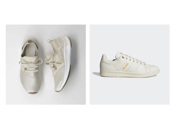 【adidas Originals/アディダス オリジナルス】のスタンスミス Stan Smith&【THE STATION STORE / UNITED ARROWS/ザ ステーション ストア】のNERGIZE MARBLE PACK スニーカー 【シューズ・靴】おすすめ!人気、トレンド・レディースファッションの通販   おすすめ人気トレンドファッション通販アイテム インテリア・キッズ・メンズ・レディースファッション・服の通販 founy(ファニー) https://founy.com/ ファッション Fashion レディースファッション WOMEN NEW・新作・新着・新入荷 New Arrivals クラシック シューズ ストライプ スニーカー 人気  ID:crp329100000057132