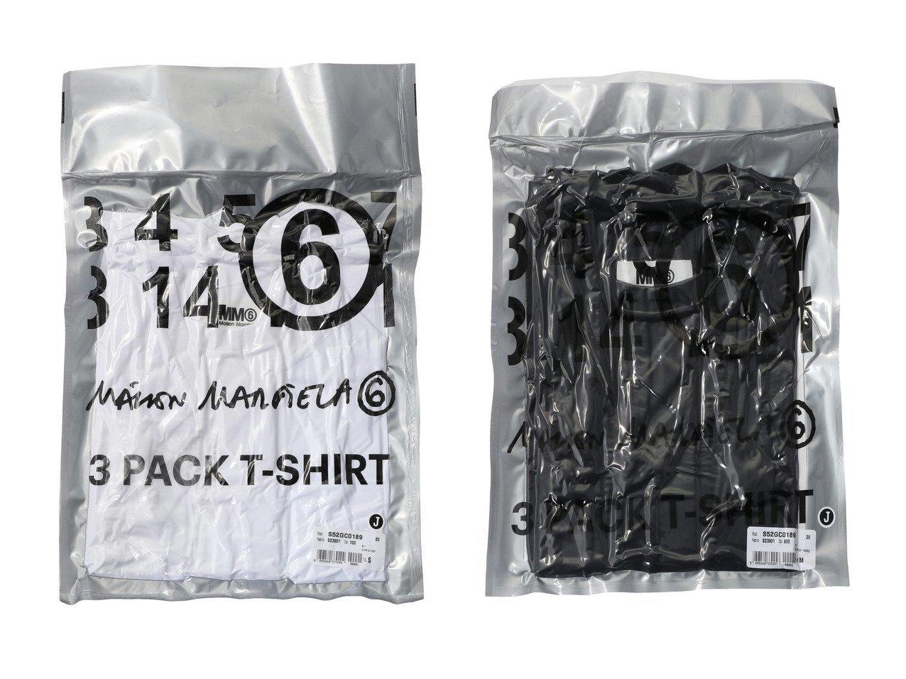 【MM6 Maison Martin Margiela/エムエム6 メゾン マルタン マルジェラ】のパッケージングコットンTシャツ 【トップス・カットソー】おすすめ!人気、トレンド・レディースファッションの通販   おすすめで人気の流行・トレンド、ファッションの通販商品 インテリア・家具・メンズファッション・キッズファッション・レディースファッション・服の通販 founy(ファニー) https://founy.com/ ファッション Fashion レディースファッション WOMEN トップス・カットソー Tops/Tshirt シャツ/ブラウス Shirts/Blouses ロング / Tシャツ T-Shirts カットソー Cut and Sewn 2020年 2020 2020-2021秋冬・A/W AW・Autumn/Winter・FW・Fall-Winter/2020-2021 2021年 2021 2021-2022秋冬・A/W AW・Autumn/Winter・FW・Fall-Winter・2021-2022 A/W・秋冬 AW・Autumn/Winter・FW・Fall-Winter インナー ショート スリーブ ラウンド |ID:crp329100000057203