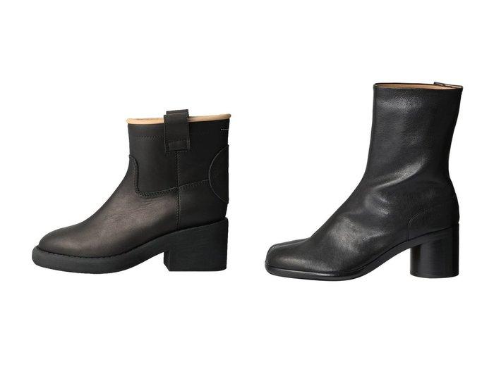 【MM6 Maison Martin Margiela/エムエム6 メゾン マルタン マルジェラ】のレザーアンクルブーツ&【MAISON MARGIELA/メゾン マルジェラ】のTabi 足袋アンクルブーツ 【シューズ・靴】おすすめ!人気、トレンド・レディースファッションの通販 おすすめ人気トレンドファッション通販アイテム インテリア・キッズ・メンズ・レディースファッション・服の通販 founy(ファニー) https://founy.com/ ファッション Fashion レディースファッション WOMEN 2020年 2020 2020-2021秋冬・A/W AW・Autumn/Winter・FW・Fall-Winter/2020-2021 2021年 2021 2021-2022秋冬・A/W AW・Autumn/Winter・FW・Fall-Winter・2021-2022 A/W・秋冬 AW・Autumn/Winter・FW・Fall-Winter アンクル ショート おすすめ Recommend フィット |ID:crp329100000057861