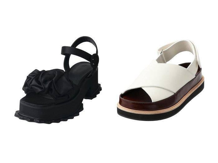 【ENFOLD/エンフォルド】のクロスフラットサンダル&デコラティブ サンダル 【シューズ・靴】おすすめ!人気、トレンド・レディースファッションの通販 おすすめ人気トレンドファッション通販アイテム 人気、トレンドファッション・服の通販 founy(ファニー) ファッション Fashion レディースファッション WOMEN 2020年 2020 2020-2021秋冬・A/W AW・Autumn/Winter・FW・Fall-Winter/2020-2021 2021年 2021 2021-2022秋冬・A/W AW・Autumn/Winter・FW・Fall-Winter・2021-2022 A/W・秋冬 AW・Autumn/Winter・FW・Fall-Winter おすすめ Recommend サンダル シンプル ソックス ラップ インソール トレンド |ID:crp329100000057863