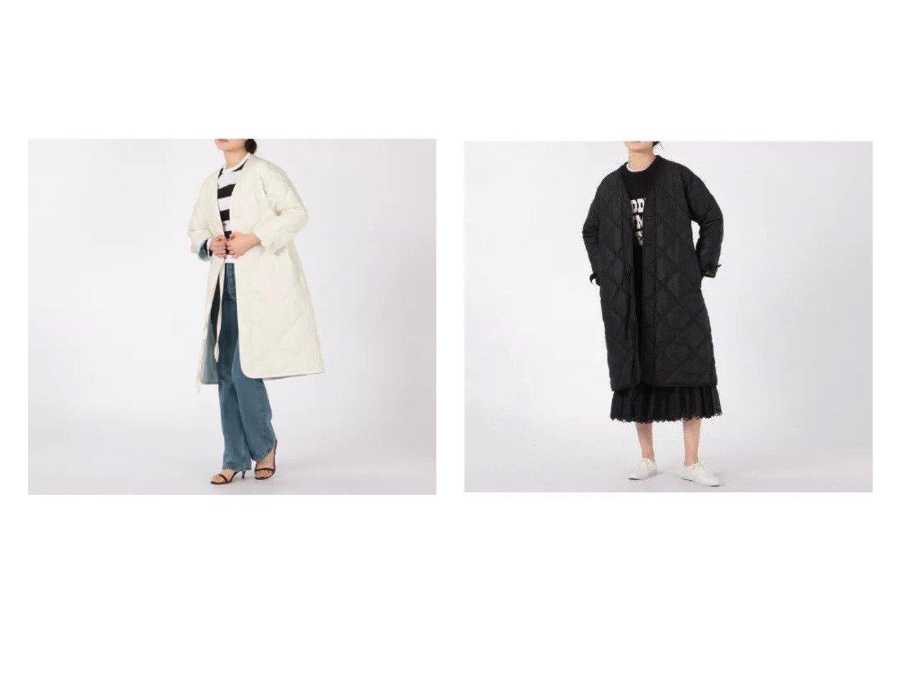 【MADISONBLUE/マディソンブルー】のLINER COAT D QUILTING COAT 【アウター】おすすめ!人気、トレンド・レディースファッションの通販 おすすめで人気の流行・トレンド、ファッションの通販商品 インテリア・家具・メンズファッション・キッズファッション・レディースファッション・服の通販 founy(ファニー) https://founy.com/ ファッション Fashion レディースファッション WOMEN アウター Coat Outerwear コート Coats A/W・秋冬 AW・Autumn/Winter・FW・Fall-Winter エレガント キルティング サテン ダウン ドレス ミリタリー |ID:crp329100000057894
