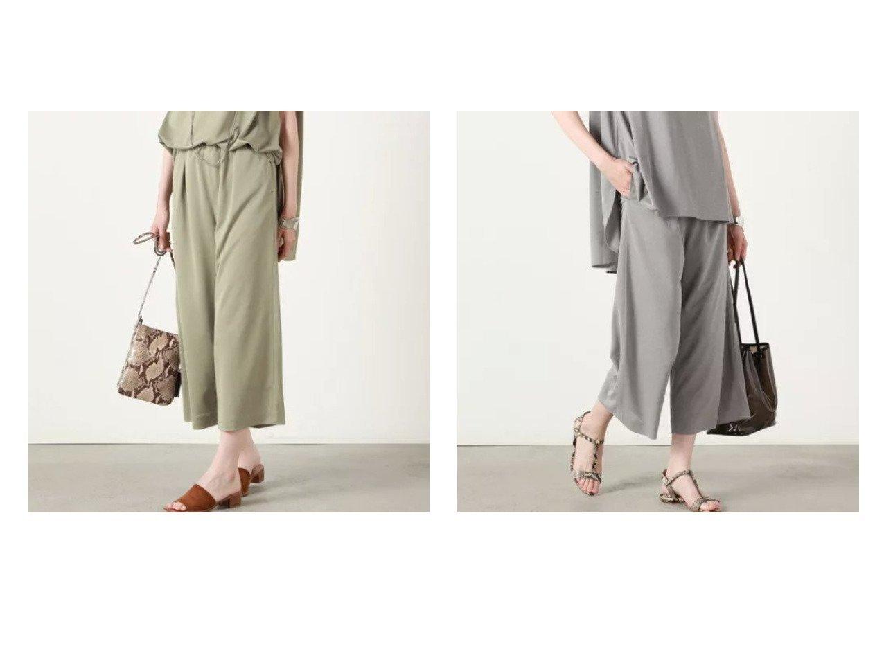 【NOLLEY'S/ノーリーズ】の【WEB限定】ハイゲージジャージーセットアップイージーパンツ 【パンツ】おすすめ!人気、トレンド・レディースファッションの通販 おすすめで人気の流行・トレンド、ファッションの通販商品 インテリア・家具・メンズファッション・キッズファッション・レディースファッション・服の通販 founy(ファニー) https://founy.com/ ファッション Fashion レディースファッション WOMEN セットアップ Setup パンツ Pants おすすめ Recommend クロップド シューズ ジャージ セットアップ リラックス ワイド 夏 Summer |ID:crp329100000057979