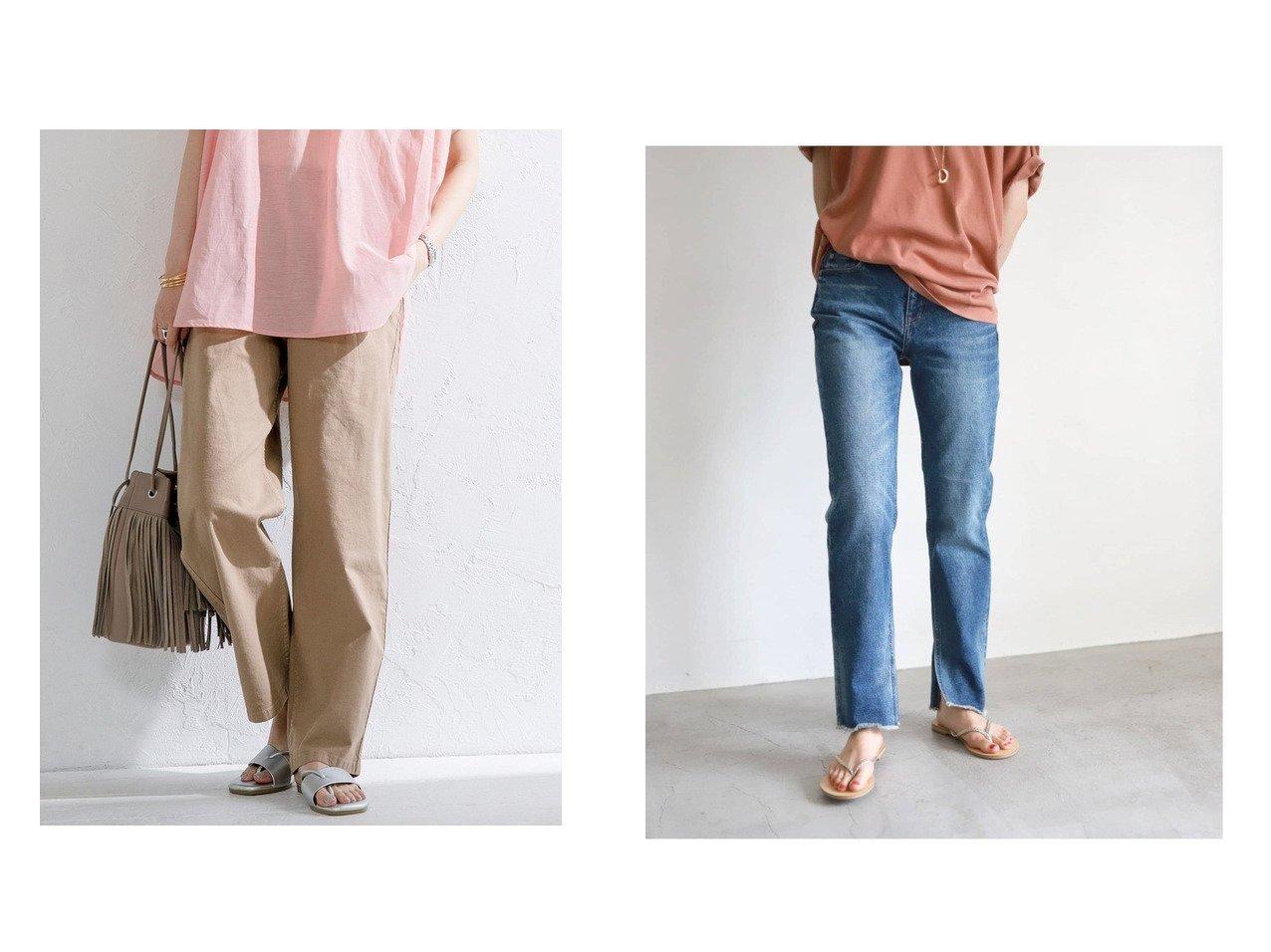 【COEN/コーエン】のカバーポケットパンツ&【SLOBE IENA/スローブ イエナ】の【Healthy denim】CITRUS SLIT ストレートスリットデニムパンツ 【パンツ】おすすめ!人気、トレンド・レディースファッションの通販 おすすめで人気の流行・トレンド、ファッションの通販商品 インテリア・家具・メンズファッション・キッズファッション・レディースファッション・服の通販 founy(ファニー) https://founy.com/ ファッション Fashion レディースファッション WOMEN パンツ Pants デニムパンツ Denim Pants ジーンズ ストレート スリット デニム 定番 Standard ロング A/W・秋冬 AW・Autumn/Winter・FW・Fall-Winter 2021年 2021 2021-2022秋冬・A/W AW・Autumn/Winter・FW・Fall-Winter・2021-2022 サンダル ストレッチ ベーシック ポケット S/S・春夏 SS・Spring/Summer 2021春夏・S/S SS/Spring/Summer/2021 おすすめ Recommend 夏 Summer |ID:crp329100000057982