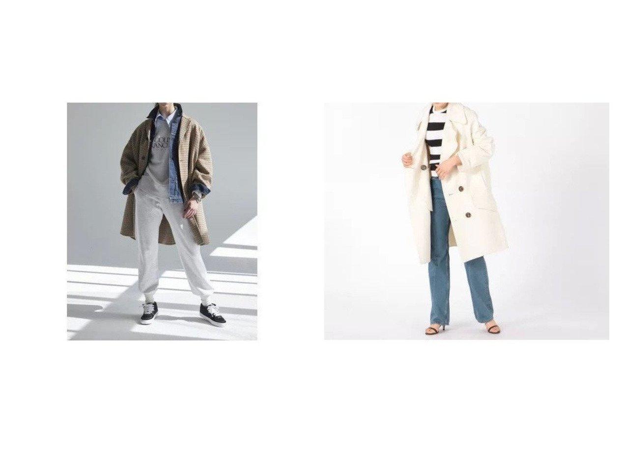 【MADISONBLUE/マディソンブルー】のRV BIG PEA CT BEAVER COAT&【Shinzone/シンゾーン】のCLUB COAT 【アウター】おすすめ!人気、トレンド・レディースファッションの通販 おすすめで人気の流行・トレンド、ファッションの通販商品 インテリア・家具・メンズファッション・キッズファッション・レディースファッション・服の通販 founy(ファニー) https://founy.com/ ファッション Fashion レディースファッション WOMEN アウター Coat Outerwear コート Coats チェスターコート Top Coat Pコート Pea Coats おすすめ Recommend クラシック ジャケット チェスターコート デニム ミドル ロング A/W・秋冬 AW・Autumn/Winter・FW・Fall-Winter ビッグ メルトン 定番 Standard  ID:crp329100000058147