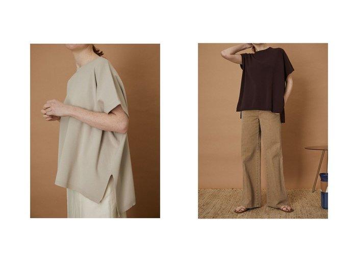 【RIM.ARK/リムアーク】のAsymmetry knit tops 【トップス・カットソー】おすすめ!人気、トレンド・レディースファッションの通販 おすすめ人気トレンドファッション通販アイテム 人気、トレンドファッション・服の通販 founy(ファニー) ファッション Fashion レディースファッション WOMEN トップス・カットソー Tops/Tshirt ニット Knit Tops シャツ/ブラウス Shirts/Blouses ロング / Tシャツ T-Shirts カットソー Cut and Sewn アシンメトリー シンプル バランス |ID:crp329100000058266