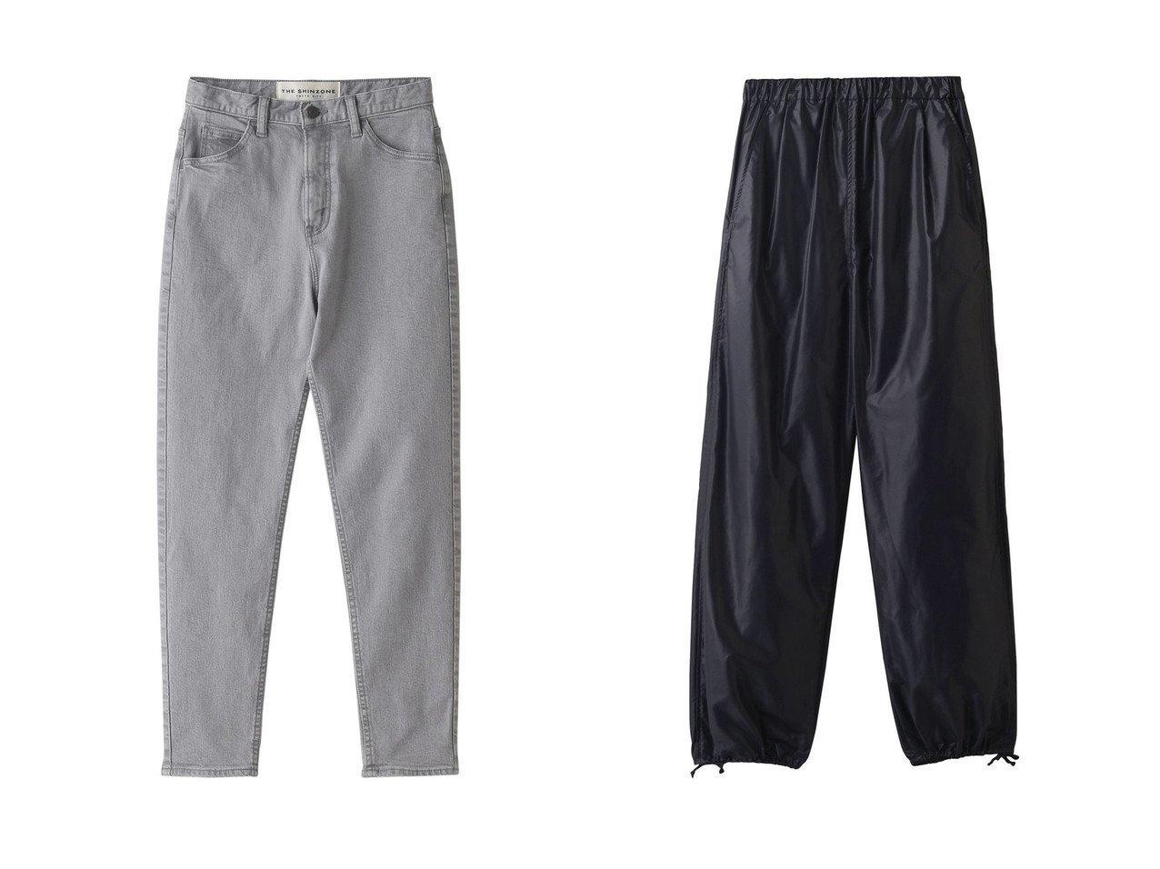 【Whim Gazette/ウィムガゼット】のPASYA イージーパンツ&【Shinzone/シンゾーン】のエンパイヤジーンズ 【パンツ】おすすめ!人気、トレンド・レディースファッションの通販 おすすめで人気の流行・トレンド、ファッションの通販商品 インテリア・家具・メンズファッション・キッズファッション・レディースファッション・服の通販 founy(ファニー) https://founy.com/ ファッション Fashion レディースファッション WOMEN パンツ Pants デニムパンツ Denim Pants 2020年 2020 2020-2021秋冬・A/W AW・Autumn/Winter・FW・Fall-Winter/2020-2021 2021年 2021 2021-2022秋冬・A/W AW・Autumn/Winter・FW・Fall-Winter・2021-2022 A/W・秋冬 AW・Autumn/Winter・FW・Fall-Winter ジーンズ デニム トレンド 定番 Standard  ID:crp329100000058583