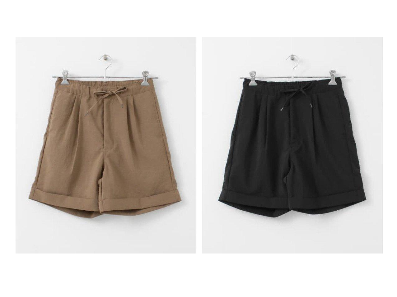 【URBAN RESEARCH DOORS/アーバンリサーチ ドアーズ】のUNIFY Dry Tuck Half Shorts 【パンツ】おすすめ!人気、トレンド・レディースファッションの通販 おすすめで人気の流行・トレンド、ファッションの通販商品 インテリア・家具・メンズファッション・キッズファッション・レディースファッション・服の通販 founy(ファニー) https://founy.com/ ファッション Fashion レディースファッション WOMEN パンツ Pants ポケット メンズ リラックス  ID:crp329100000058596