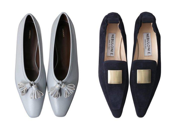 【LAURENCE/ロランス】のVIENNA タッセル付きフラットシューズ&【NEBULONI E/ネブローニ】の【ELLE SHOP限定】スクエアモチーフ付きスリッポン 【シューズ・靴】おすすめ!人気、トレンド・レディースファッションの通販 おすすめ人気トレンドファッション通販アイテム インテリア・キッズ・メンズ・レディースファッション・服の通販 founy(ファニー) https://founy.com/ ファッション Fashion レディースファッション WOMEN 2020年 2020 2020-2021秋冬・A/W AW・Autumn/Winter・FW・Fall-Winter/2020-2021 2021年 2021 2021-2022秋冬・A/W AW・Autumn/Winter・FW・Fall-Winter・2021-2022 A/W・秋冬 AW・Autumn/Winter・FW・Fall-Winter シューズ スクエア スリッポン フォルム フラット モチーフ タッセル  ID:crp329100000058615