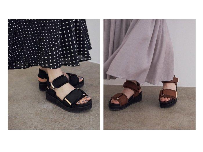 【ROPE' mademoiselle/ロペ マドモアゼル】のワイドベルトスポーツサンダル 【シューズ・靴】おすすめ!人気、トレンド・レディースファッションの通販 おすすめ人気トレンドファッション通販アイテム 人気、トレンドファッション・服の通販 founy(ファニー) ファッション Fashion レディースファッション WOMEN ベルト Belts スポーツウェア Sportswear サンダル / ミュール Sandals スポーツ シューズ Shoes サンダル シューズ スポーツ トレンド フェミニン ワイド 定番 Standard  ID:crp329100000058623
