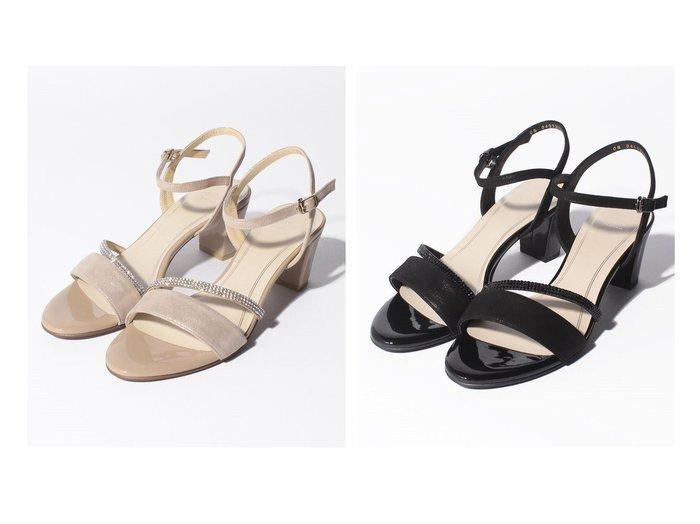 【Riz raffinee/リズラフィーネ】の【Riz raffinee】ラインストーンデザインサンダル 【シューズ・靴】おすすめ!人気、トレンド・レディースファッションの通販 おすすめ人気トレンドファッション通販アイテム インテリア・キッズ・メンズ・レディースファッション・服の通販 founy(ファニー) https://founy.com/ ファッション Fashion レディースファッション WOMEN エレガント クリスタル サンダル シューズ ストーン 日本製 Made in Japan  ID:crp329100000058625