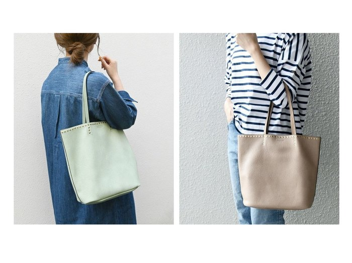 【SHIPS any/シップス エニィ】のSHIPS any 2WAY スタッズ ビッグトート 2 【バッグ・鞄】おすすめ!人気、トレンド・レディースファッションの通販 おすすめ人気トレンドファッション通販アイテム インテリア・キッズ・メンズ・レディースファッション・服の通販 founy(ファニー) https://founy.com/ ファッション Fashion レディースファッション WOMEN バッグ Bag インナー エナメル ショルダー シンプル スタッズ 人気 ポーチ マグネット ラップ A/W・秋冬 AW・Autumn/Winter・FW・Fall-Winter 再入荷 Restock/Back in Stock/Re Arrival おすすめ Recommend |ID:crp329100000058628