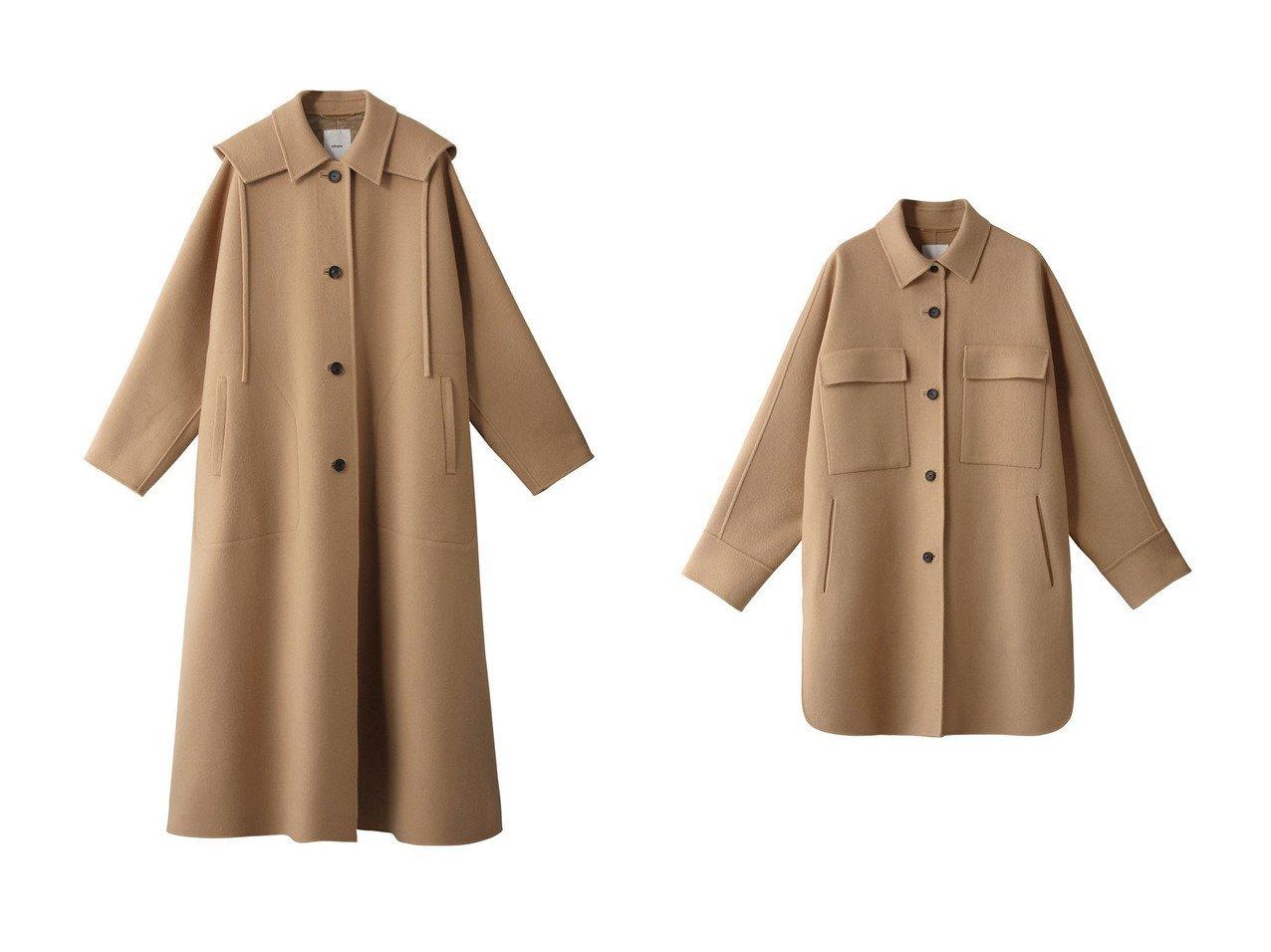 【ebure/エブール】のジロンラムメルトン ステンカラーフーデットコート&ジロンラムメルトン オーバージャケット 【アウター】おすすめ!人気、トレンド・レディースファッションの通販 おすすめで人気の流行・トレンド、ファッションの通販商品 インテリア・家具・メンズファッション・キッズファッション・レディースファッション・服の通販 founy(ファニー) https://founy.com/ ファッション Fashion レディースファッション WOMEN アウター Coat Outerwear コート Coats ジャケット Jackets 2020年 2020 2020-2021秋冬・A/W AW・Autumn/Winter・FW・Fall-Winter/2020-2021 2021年 2021 2021-2022秋冬・A/W AW・Autumn/Winter・FW・Fall-Winter・2021-2022 A/W・秋冬 AW・Autumn/Winter・FW・Fall-Winter なめらか カシミヤ シンプル ドレス メルトン ロング ジャケット  ID:crp329100000058635