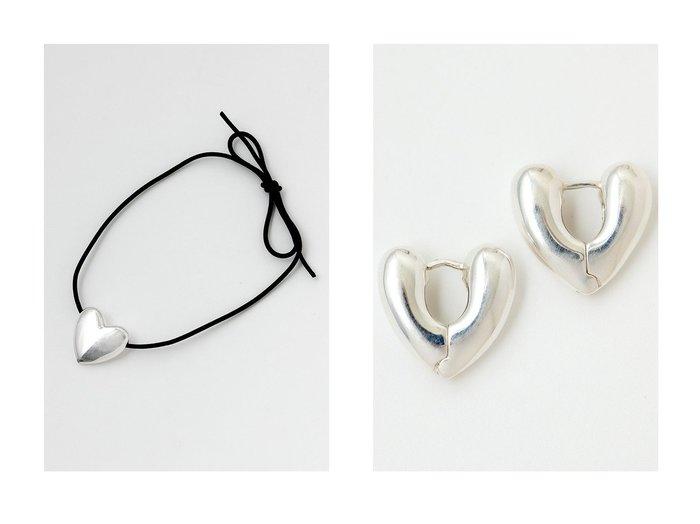 【Whim Gazette/ウィムガゼット】の【ANNIKA INEZ】Heart モチーフネックレス&【ANNIKA INEZ】Heart フープピアス 【ジュエリー アクセサリー】おすすめ!人気、トレンド・レディースファッションの通販 おすすめ人気トレンドファッション通販アイテム インテリア・キッズ・メンズ・レディースファッション・服の通販 founy(ファニー) https://founy.com/ ファッション Fashion レディースファッション WOMEN ジュエリー Jewelry ネックレス Necklaces リング Rings イヤリング Earrings アクセサリー シルバー シンプル スエード ストリング ニューヨーク ネックレス ハンド フォルム モダン モチーフ A/W・秋冬 AW・Autumn/Winter・FW・Fall-Winter 2020年 2020 2021年 2021 2020-2021秋冬・A/W AW・Autumn/Winter・FW・Fall-Winter/2020-2021 2021-2022秋冬・A/W AW・Autumn/Winter・FW・Fall-Winter・2021-2022 おすすめ Recommend  ID:crp329100000058771