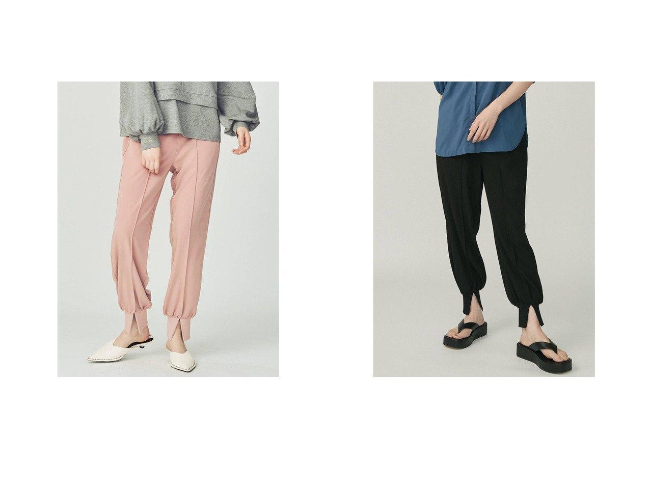 【COTORICA/コトリカ】のCOTORICA. 【THE DAYZ TOKYO】センタースリットジョグパンツ 【パンツ】おすすめ!人気、トレンド・レディースファッションの通販   おすすめで人気の流行・トレンド、ファッションの通販商品 インテリア・家具・メンズファッション・キッズファッション・レディースファッション・服の通販 founy(ファニー) https://founy.com/ ファッション Fashion レディースファッション WOMEN パンツ Pants 2021年 2021 2021春夏・S/S SS/Spring/Summer/2021 S/S・春夏 SS・Spring/Summer シャツワンピ ショート スニーカー スリット センター 夏 Summer 春 Spring |ID:crp329100000058806