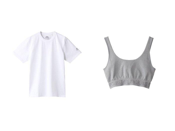 【ECOALF/エコアルフ】のBECAUSE ヨガトップス BECAUSE YOGA TOPS&【日本限定企画】ワンハンドレッド Tシャツ ECOALF 100 T-SHIRT 【トップス・カットソー】おすすめ!人気、トレンド・レディースファッションの通販   おすすめ人気トレンドファッション通販アイテム インテリア・キッズ・メンズ・レディースファッション・服の通販 founy(ファニー) https://founy.com/ ファッション Fashion レディースファッション WOMEN トップス・カットソー Tops/Tshirt シャツ/ブラウス Shirts/Blouses ロング / Tシャツ T-Shirts カットソー Cut and Sewn スポーツウェア Sportswear スポーツ トップス Tops ショート スリーブ 再入荷 Restock/Back in Stock/Re Arrival 無地 コレクション スポーツ ヨガ |ID:crp329100000058889