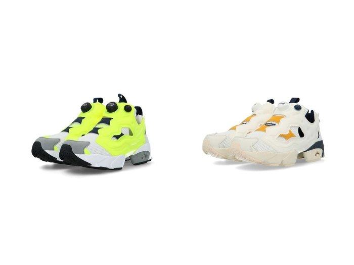 【Reebok CLASSIC/リーボック】のインスタポンプ フューリー Instapump Fury Shoes おすすめ!人気、トレンド・レディースファッションの通販   おすすめ人気トレンドファッション通販アイテム インテリア・キッズ・メンズ・レディースファッション・服の通販 founy(ファニー) https://founy.com/ ファッション Fashion レディースファッション WOMEN イエロー シェイプ シューズ スニーカー スリッポン フィット リメイク 軽量  ID:crp329100000058952