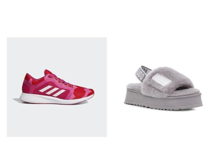 【UGG Australia/アグ】のアグ ディスコ スライド&【adidas/アディダス】のEdge Lux 4 × マリメッコ Edge Lux 4 × Marimekko 【シューズ・靴】おすすめ!人気、トレンド・レディースファッションの通販   おすすめ人気トレンドファッション通販アイテム 人気、トレンドファッション・服の通販 founy(ファニー)  ファッション Fashion レディースファッション WOMEN NEW・新作・新着・新入荷 New Arrivals コラボ シューズ スニーカー プリント ライニング ランニング ワーク 軽量 インソール グラフィック サンダル プレート ラバー |ID:crp329100000059043