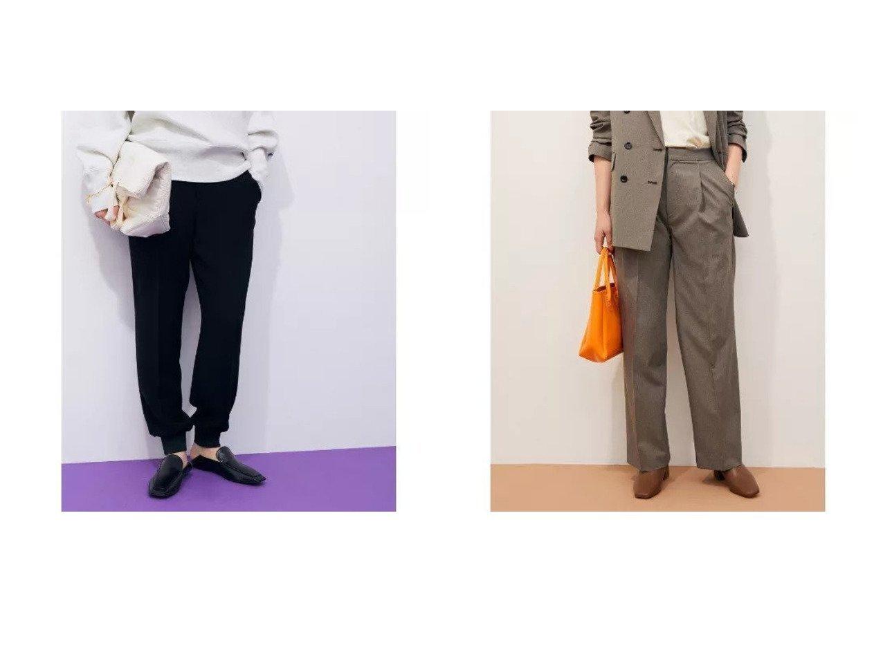 【ADAM ET ROPE'/アダム エ ロペ】の【セットアップ対応】リラックスジョグパンツ&【セットアップ対応】ライトツイードスラックス 【パンツ】おすすめ!人気、トレンド・レディースファッションの通販 おすすめで人気の流行・トレンド、ファッションの通販商品 インテリア・家具・メンズファッション・キッズファッション・レディースファッション・服の通販 founy(ファニー) https://founy.com/ ファッション Fashion レディースファッション WOMEN セットアップ Setup パンツ Pants ショート ストラップサンダル ストレッチ スリーブ セットアップ センター なめらか ボトム ポケット リラックス ロング A/W・秋冬 AW・Autumn/Winter・FW・Fall-Winter 2021年 2021 2021-2022秋冬・A/W AW・Autumn/Winter・FW・Fall-Winter・2021-2022 おすすめ Recommend  ID:crp329100000059137