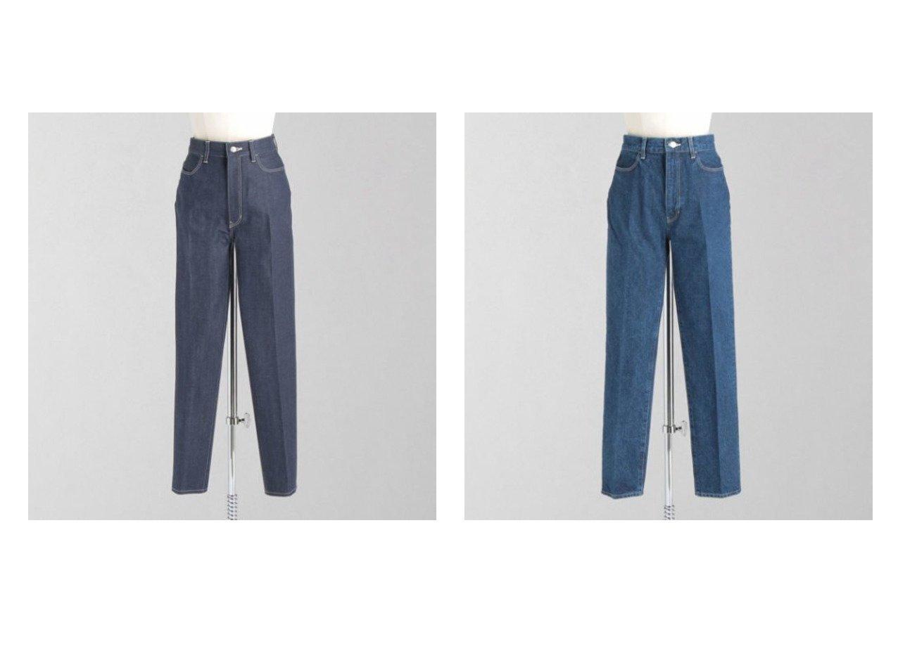 【LOEFF/ロエフ】の13oz スラックス デニムパンツ NAVY&13oz スラックス デニムパンツ COBALT 【パンツ】おすすめ!人気、トレンド・レディースファッションの通販 おすすめで人気の流行・トレンド、ファッションの通販商品 インテリア・家具・メンズファッション・キッズファッション・レディースファッション・服の通販 founy(ファニー) https://founy.com/ ファッション Fashion レディースファッション WOMEN パンツ Pants デニムパンツ Denim Pants エレガント スラックス センター デニム おすすめ Recommend |ID:crp329100000059141
