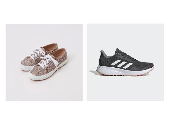 【adidas/アディダス】のデュラモ Duramo 9&【Piche Abahouse/ピシェ アバハウス】の●2750 レースアップスニーカー(スネーク) 【シューズ・靴】おすすめ!人気、トレンド・レディースファッションの通販 おすすめ人気トレンドファッション通販アイテム 人気、トレンドファッション・服の通販 founy(ファニー)  ファッション Fashion レディースファッション WOMEN イタリア キャンバス シューズ シンプル スニーカー ベーシック 定番 Standard クッション スポーツ フィット メッシュ モダン ランニング レギュラー 再入荷 Restock/Back in Stock/Re Arrival |ID:crp329100000059265