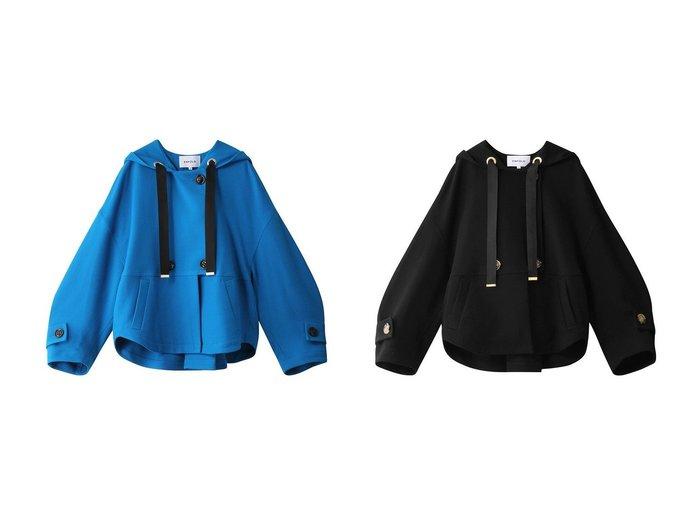 【ENFOLD/エンフォルド】のファインウールダブルクロス1フーディ 【トップス・カットソー】おすすめ!人気、トレンド・レディースファッションの通販 おすすめ人気トレンドファッション通販アイテム 人気、トレンドファッション・服の通販 founy(ファニー) ファッション Fashion レディースファッション WOMEN トップス・カットソー Tops/Tshirt シャツ/ブラウス Shirts/Blouses パーカ Sweats ロング / Tシャツ T-Shirts スウェット Sweat カットソー Cut and Sewn 2020年 2020 2020-2021秋冬・A/W AW・Autumn/Winter・FW・Fall-Winter/2020-2021 2021年 2021 2021-2022秋冬・A/W AW・Autumn/Winter・FW・Fall-Winter・2021-2022 A/W・秋冬 AW・Autumn/Winter・FW・Fall-Winter スリーブ ブルゾン |ID:crp329100000059337