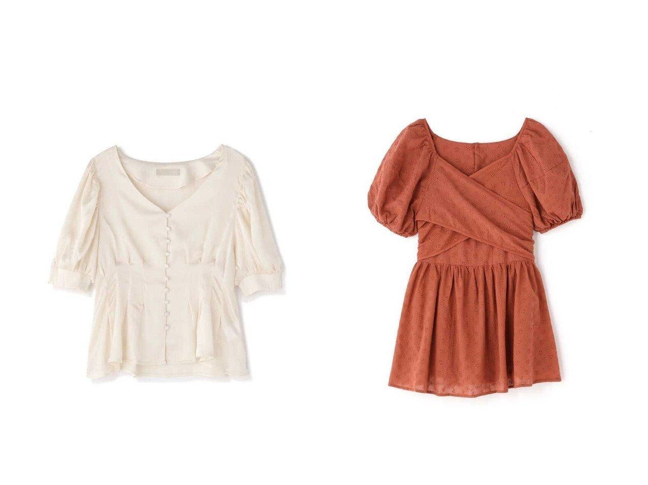 【FREE'S MART/フリーズマート】のエンブロイダリーバックリボンチュニックブラウス&ウエストタック楊柳ブラウス 【プチプライス・低価格】おすすめ!人気、トレンド・レディースファッションの通販 おすすめで人気の流行・トレンド、ファッションの通販商品 インテリア・家具・メンズファッション・キッズファッション・レディースファッション・服の通販 founy(ファニー) https://founy.com/ ファッション Fashion レディースファッション WOMEN トップス・カットソー Tops/Tshirt シャツ/ブラウス Shirts/Blouses スリーブ デコルテ フロント リボン レース おすすめ Recommend エンブロイダリー シェイプ チュニック 今季 夏 Summer |ID:crp329100000059390