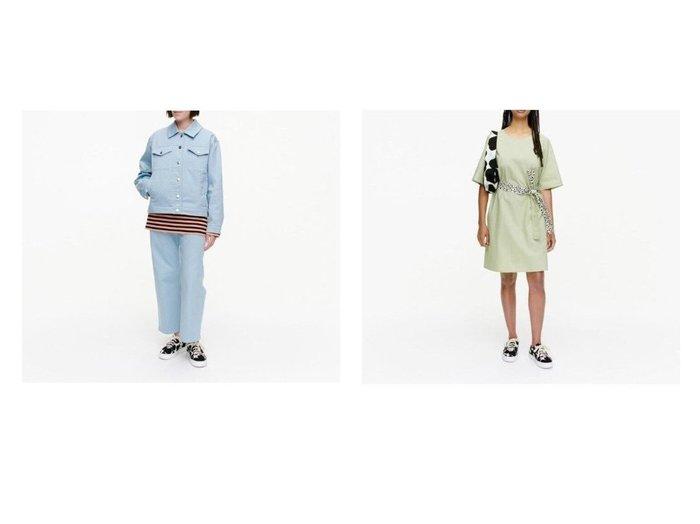 【marimekko/マリメッコ】のHietaheina コート&Rohkaisu Solid ワンピース おすすめ!人気、トレンド・レディースファッションの通販 おすすめ人気トレンドファッション通販アイテム 人気、トレンドファッション・服の通販 founy(ファニー)  ファッション Fashion レディースファッション WOMEN アウター Coat Outerwear コート Coats ジャケット Jackets ワンピース Dress シルバー ジャケット フラップ プリント ポケット メタル モチーフ おすすめ Recommend シンプル スリーブ ハーフ ワンポイント  ID:crp329100000059421