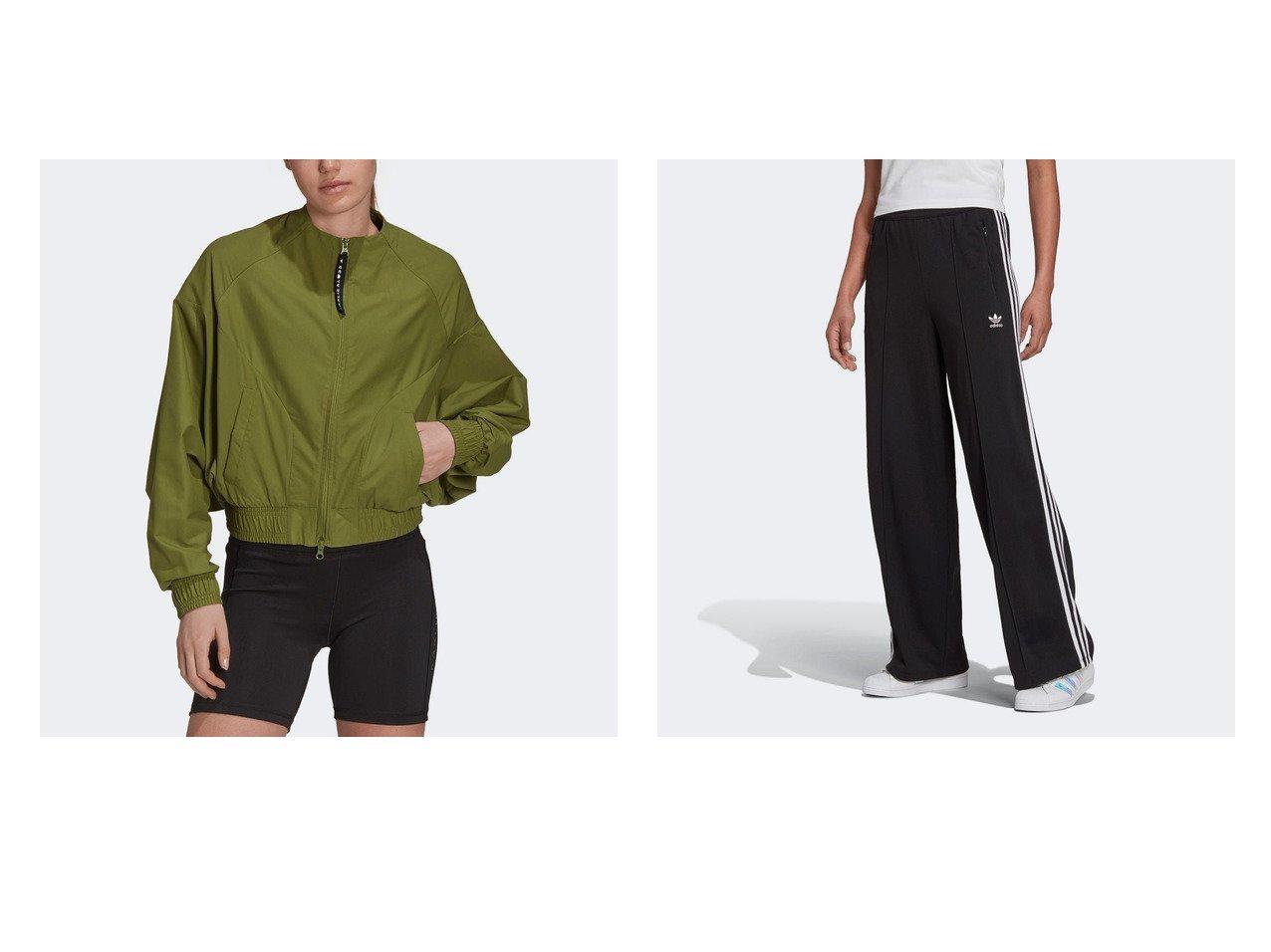 【adidas/アディダス】のカーリー クロス カバーアップ ジャケット Karlie Kloss Cover-Up Jacket&アディカラー クラシックス トラックパンツ おすすめ!人気、トレンド・レディースファッションの通販 おすすめで人気の流行・トレンド、ファッションの通販商品 インテリア・家具・メンズファッション・キッズファッション・レディースファッション・服の通販 founy(ファニー) https://founy.com/ ファッション Fashion レディースファッション WOMEN アウター Coat Outerwear ジャケット Jackets パンツ Pants 2021年 2021 2021-2022秋冬・A/W AW・Autumn/Winter・FW・Fall-Winter・2021-2022 A/W・秋冬 AW・Autumn/Winter・FW・Fall-Winter ジャケット スタイリッシュ ポケット クラシック ダブル ドローコード フィット リラックス  ID:crp329100000059456