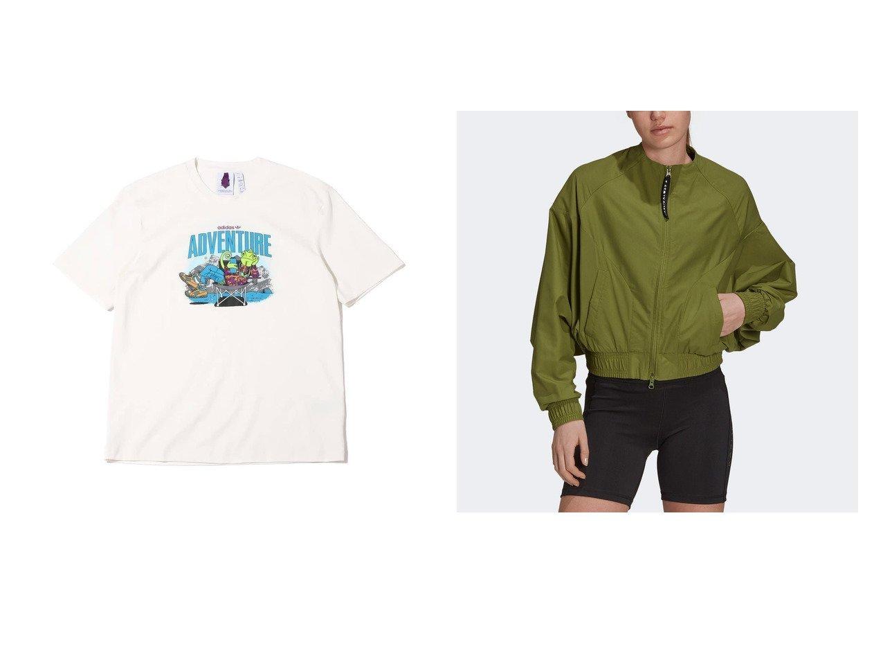 【adidas/アディダス】のカーリー クロス カバーアップ ジャケット Karlie Kloss Cover-Up Jacket&CHAMELEON TEE おすすめ!人気、トレンド・レディースファッションの通販 おすすめで人気の流行・トレンド、ファッションの通販商品 インテリア・家具・メンズファッション・キッズファッション・レディースファッション・服の通販 founy(ファニー) https://founy.com/ ファッション Fashion レディースファッション WOMEN アウター Coat Outerwear ジャケット Jackets 2020年 2020 2020春夏・S/S SS・Spring/Summer/2020 S/S・春夏 SS・Spring/Summer アウトドア クール 夏 Summer 春 Spring 2021年 2021 2021-2022秋冬・A/W AW・Autumn/Winter・FW・Fall-Winter・2021-2022 A/W・秋冬 AW・Autumn/Winter・FW・Fall-Winter ジャケット スタイリッシュ ポケット  ID:crp329100000059458