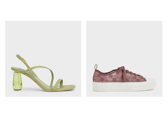 【CHARLES & KEITH/チャールズ アンド キース】の【2021 FALL 新作】レースロウトップ スニーカー Lace Low-Top Sneakers&【再入荷】【2021 SUMMER】シースルー スカルプチャーヒールサンダル See-Through Sculptural Heel Sandals おすすめ!人気、トレンド・レディースファッションの通販 おすすめ人気トレンドファッション通販アイテム 人気、トレンドファッション・服の通販 founy(ファニー)  ファッション Fashion レディースファッション WOMEN 2021年 2021 2021春夏・S/S SS/Spring/Summer/2021 S/S・春夏 SS・Spring/Summer サンダル シンプル ラップ 再入荷 Restock/Back in Stock/Re Arrival 夏 Summer 春 Spring 2021-2022秋冬・A/W AW・Autumn/Winter・FW・Fall-Winter・2021-2022 A/W・秋冬 AW・Autumn/Winter・FW・Fall-Winter スニーカー |ID:crp329100000059461