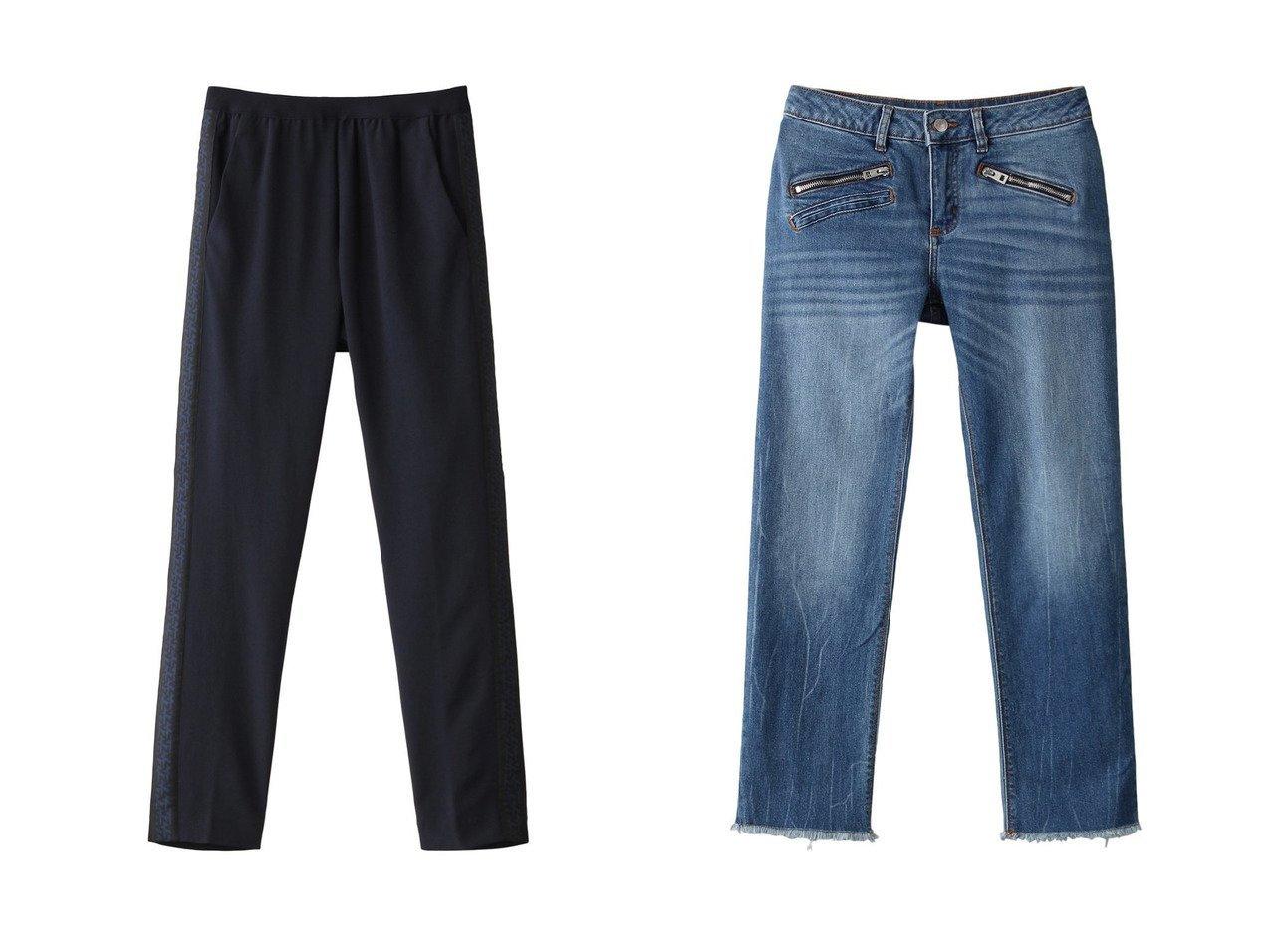 【ZADIG & VOLTAIRE/ザディグ エ ヴォルテール】のPAULA BAND PANTS パンツ&AVA ECO DENIM ジーンズ 【パンツ】おすすめ!人気、トレンド・レディースファッションの通販 おすすめで人気の流行・トレンド、ファッションの通販商品 インテリア・家具・メンズファッション・キッズファッション・レディースファッション・服の通販 founy(ファニー) https://founy.com/ ファッション Fashion レディースファッション WOMEN パンツ Pants デニムパンツ Denim Pants 2020年 2020 2020-2021秋冬・A/W AW・Autumn/Winter・FW・Fall-Winter/2020-2021 2021年 2021 2021-2022秋冬・A/W AW・Autumn/Winter・FW・Fall-Winter・2021-2022 A/W・秋冬 AW・Autumn/Winter・FW・Fall-Winter 人気 クール ジーンズ デニム フリンジ |ID:crp329100000059483