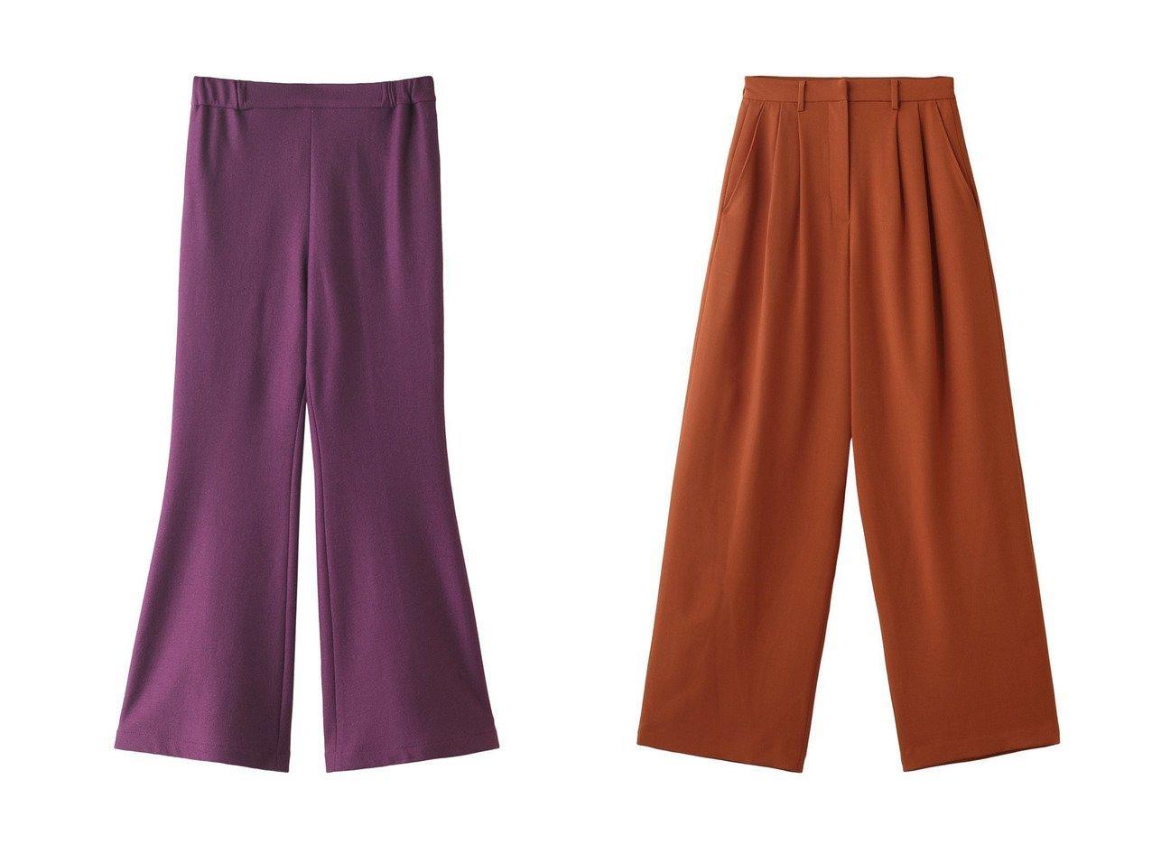 【CLANE/クラネ】のパンツ&【muller of yoshiokubo/ミュラー オブ ヨシオクボ】のウールパンツ 【パンツ】おすすめ!人気、トレンド・レディースファッションの通販 おすすめで人気の流行・トレンド、ファッションの通販商品 インテリア・家具・メンズファッション・キッズファッション・レディースファッション・服の通販 founy(ファニー) https://founy.com/ ファッション Fashion レディースファッション WOMEN パンツ Pants 2020年 2020 2020-2021秋冬・A/W AW・Autumn/Winter・FW・Fall-Winter/2020-2021 2021年 2021 2021-2022秋冬・A/W AW・Autumn/Winter・FW・Fall-Winter・2021-2022 A/W・秋冬 AW・Autumn/Winter・FW・Fall-Winter おすすめ Recommend フレア バランス フォルム |ID:crp329100000059486