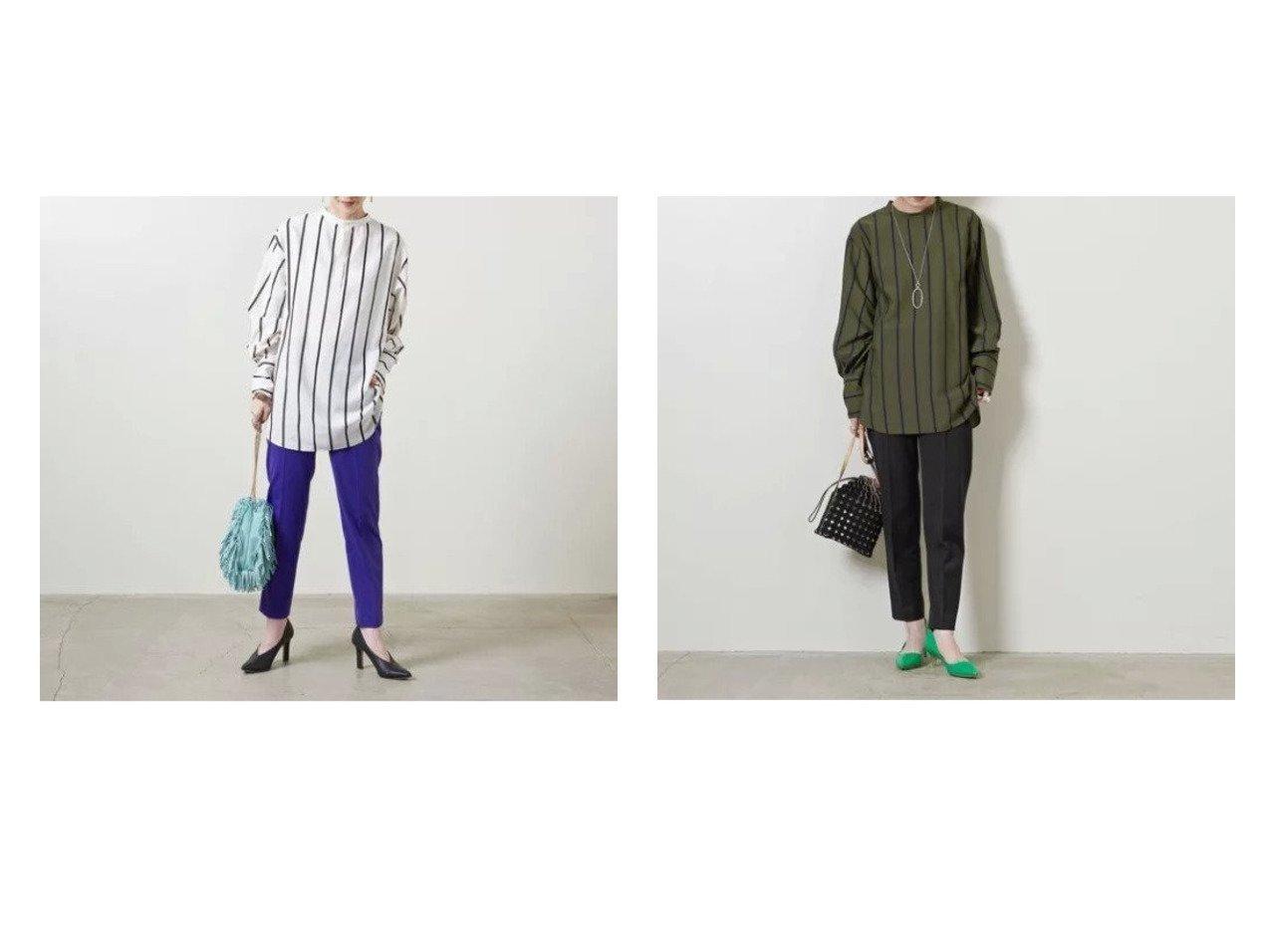 【UNITED ARROWS/ユナイテッドアローズ】のR ツイル スリムパンツ 21AW 【パンツ】おすすめ!人気、トレンド・レディースファッションの通販 おすすめで人気の流行・トレンド、ファッションの通販商品 インテリア・家具・メンズファッション・キッズファッション・レディースファッション・服の通販 founy(ファニー) https://founy.com/ ファッション Fashion レディースファッション WOMEN パンツ Pants クロップド ジャケット スリム センター ツイル A/W・秋冬 AW・Autumn/Winter・FW・Fall-Winter 2021年 2021 2021-2022秋冬・A/W AW・Autumn/Winter・FW・Fall-Winter・2021-2022 おすすめ Recommend |ID:crp329100000059490