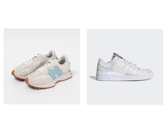 【adidas Originals/アディダス オリジナルス】のフォーラム ロー FORUM LOW&【new balance/ニューバランス】のWS327 【シューズ・靴】おすすめ!人気、トレンド・レディースファッションの通販 おすすめ人気トレンドファッション通販アイテム インテリア・キッズ・メンズ・レディースファッション・服の通販 founy(ファニー) https://founy.com/ ファッション Fashion レディースファッション WOMEN シューズ スエード スニーカー バランス フォルム グラフィック リラックス |ID:crp329100000059523