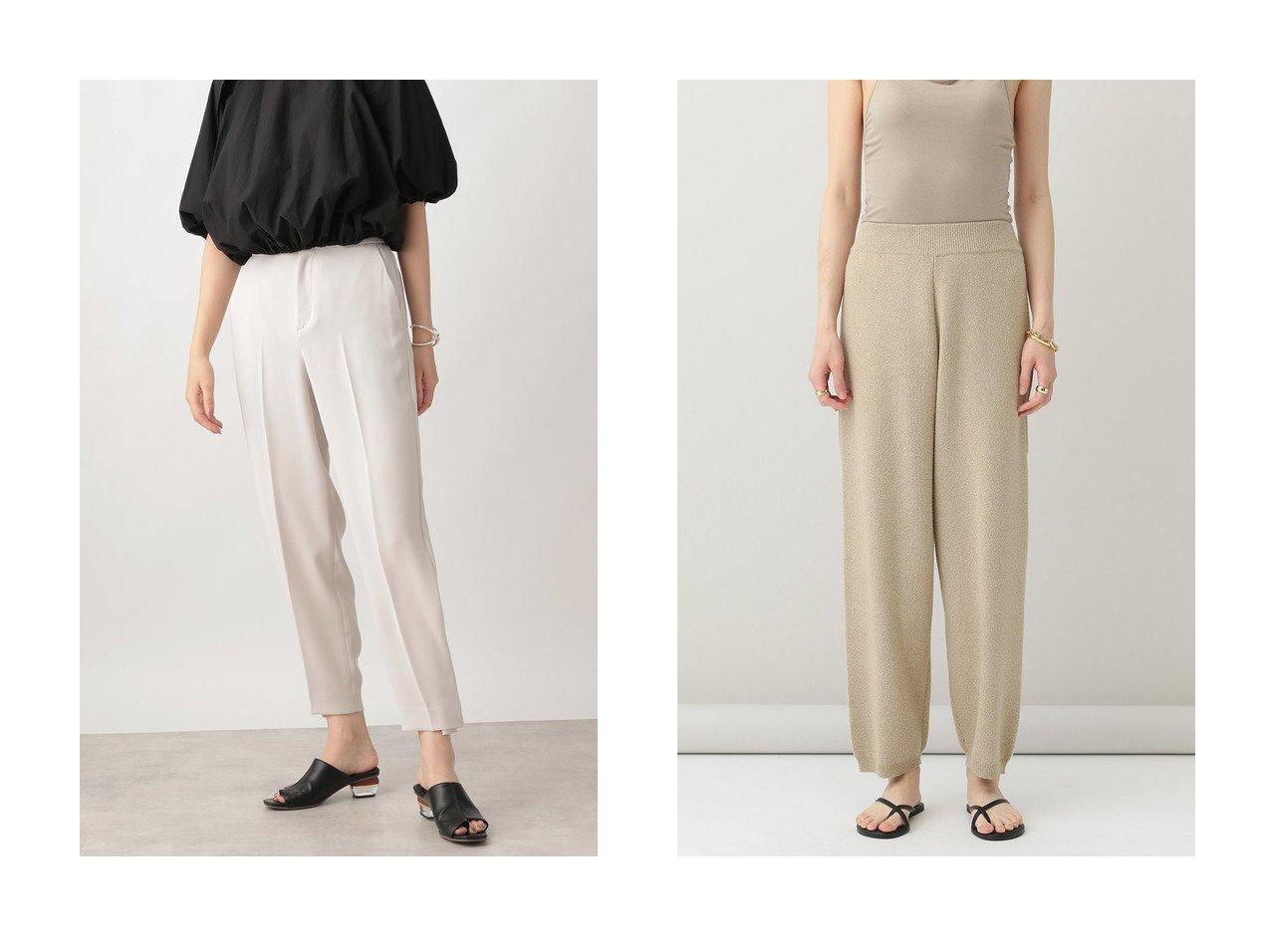 【Ezick/エジック】の裾ボタンパンツ&【Curensology/カレンソロジー】のシュエットニットパンツ 【パンツ】おすすめ!人気、トレンド・レディースファッションの通販 おすすめで人気の流行・トレンド、ファッションの通販商品 インテリア・家具・メンズファッション・キッズファッション・レディースファッション・服の通販 founy(ファニー) https://founy.com/ ファッション Fashion レディースファッション WOMEN パンツ Pants 2020年 2020 2020-2021秋冬・A/W AW・Autumn/Winter・FW・Fall-Winter/2020-2021 2021年 2021 2021-2022秋冬・A/W AW・Autumn/Winter・FW・Fall-Winter・2021-2022 A/W・秋冬 AW・Autumn/Winter・FW・Fall-Winter ストレッチ ダブル プリント リラックス おすすめ Recommend カーディガン セットアップ ベスト ロング 今季 |ID:crp329100000059677
