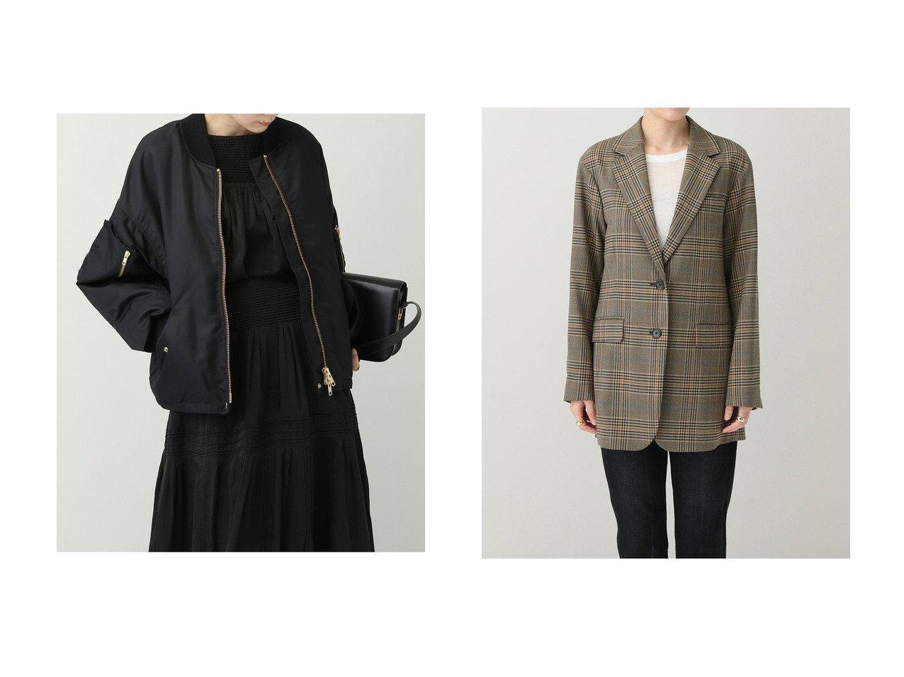 【Curensology/カレンソロジー】の【&RC】MA-1ブルゾン&【C.S.G】オーバーサイズチェックジャケット 【アウター】おすすめ!人気、トレンド・レディースファッションの通販 おすすめで人気の流行・トレンド、ファッションの通販商品 インテリア・家具・メンズファッション・キッズファッション・レディースファッション・服の通販 founy(ファニー) https://founy.com/ ファッション Fashion レディースファッション WOMEN アウター Coat Outerwear ジャケット Jackets ブルゾン Blouson/Jackets MA-1 MA-1 2020年 2020 2020-2021秋冬・A/W AW・Autumn/Winter・FW・Fall-Winter/2020-2021 2021年 2021 2021-2022秋冬・A/W AW・Autumn/Winter・FW・Fall-Winter・2021-2022 A/W・秋冬 AW・Autumn/Winter・FW・Fall-Winter おすすめ Recommend インナー ジャケット ブルゾン ベーシック ポケット ヴィンテージ 今季 軽量 イタリア ストレート セットアップ チェック デニム |ID:crp329100000059741
