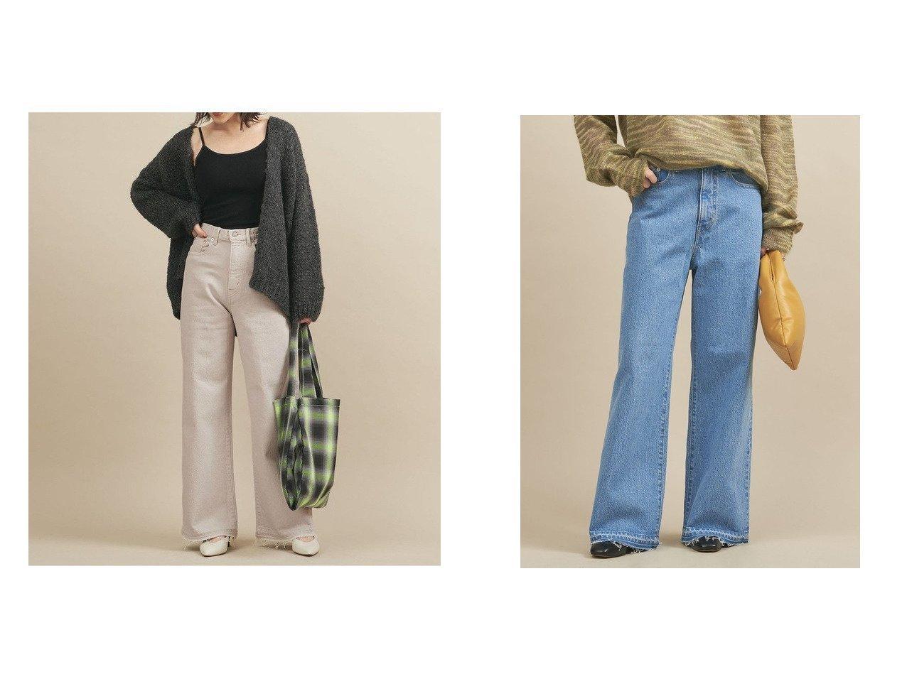 【BEAUTY&YOUTH / UNITED ARROWS/ビューティ&ユース ユナイテッドアローズ】のBY デニムソフトバギーパンツ 【パンツ】おすすめ!人気、トレンド・レディースファッションの通販 おすすめで人気の流行・トレンド、ファッションの通販商品 インテリア・家具・メンズファッション・キッズファッション・レディースファッション・服の通販 founy(ファニー) https://founy.com/ ファッション Fashion レディースファッション WOMEN パンツ Pants カットオフ カットソー シューズ ジーンズ スマート デニム 定番 Standard ミドル 冬 Winter A/W・秋冬 AW・Autumn/Winter・FW・Fall-Winter 再入荷 Restock/Back in Stock/Re Arrival NEW・新作・新着・新入荷 New Arrivals おすすめ Recommend  ID:crp329100000059833