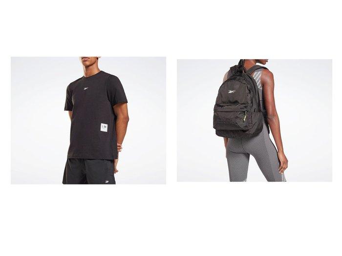【Reebok/リーボック】のレズミルズR グラフィック ショートスリーブ Tシャツ Les MillsR Graphic Short Sleeve T-Shirt&LES MILLSR バックパック Les MillsR Backpack おすすめ!人気、トレンド・レディースファッションの通販 おすすめ人気トレンドファッション通販アイテム 人気、トレンドファッション・服の通販 founy(ファニー)  ファッション Fashion レディースファッション WOMEN トップス・カットソー Tops/Tshirt シャツ/ブラウス Shirts/Blouses ロング / Tシャツ T-Shirts バッグ Bag カッティング グラフィック ショート ジャージー スリム スリーブ フィット メンズ A/W・秋冬 AW・Autumn/Winter・FW・Fall-Winter 2021年 2021 2021-2022秋冬・A/W AW・Autumn/Winter・FW・Fall-Winter・2021-2022 |ID:crp329100000059874