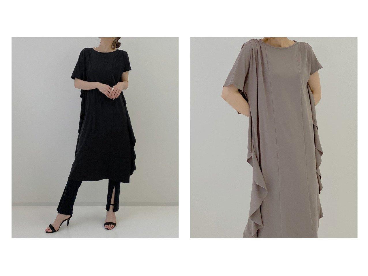 【MIELIINVARIANT/ミエリインヴァリアント】のScale Ruffle Cut Dress おすすめ!人気、トレンド・レディースファッションの通販 おすすめで人気の流行・トレンド、ファッションの通販商品 インテリア・家具・メンズファッション・キッズファッション・レディースファッション・服の通販 founy(ファニー) https://founy.com/ ファッション Fashion レディースファッション WOMEN ワンピース Dress ドレス Party Dresses チュニック Tunic NEW・新作・新着・新入荷 New Arrivals おすすめ Recommend チュニック ドレス レギンス ワイド |ID:crp329100000059893
