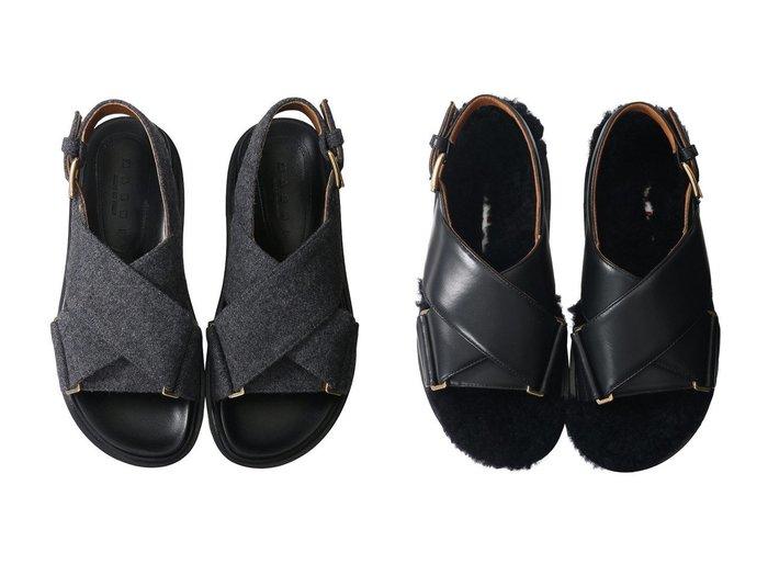 【MARNI/マルニ】のFUSSBETT ラムファークロスベルトサンダル&FUSBETT ウールクロスベルトサンダル 【シューズ・靴】おすすめ!人気、トレンド・レディースファッションの通販 おすすめ人気トレンドファッション通販アイテム インテリア・キッズ・メンズ・レディースファッション・服の通販 founy(ファニー) https://founy.com/ ファッション Fashion レディースファッション WOMEN ベルト Belts 2020年 2020 2020-2021秋冬・A/W AW・Autumn/Winter・FW・Fall-Winter/2020-2021 2021年 2021 2021-2022秋冬・A/W AW・Autumn/Winter・FW・Fall-Winter・2021-2022 A/W・秋冬 AW・Autumn/Winter・FW・Fall-Winter インソール クッション サンダル ソックス 人気 |ID:crp329100000059948