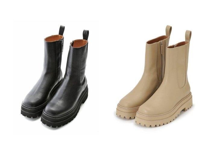 【Mila Owen/ミラオーウェン】のトラックソールハイアンクルソール 【シューズ・靴】おすすめ!人気、トレンド・レディースファッションの通販 おすすめ人気トレンドファッション通販アイテム インテリア・キッズ・メンズ・レディースファッション・服の通販 founy(ファニー) https://founy.com/ ファッション Fashion レディースファッション WOMEN アンクル シューズ スマート トレンド 定番 Standard 人気 フェイクレザー |ID:crp329100000059951